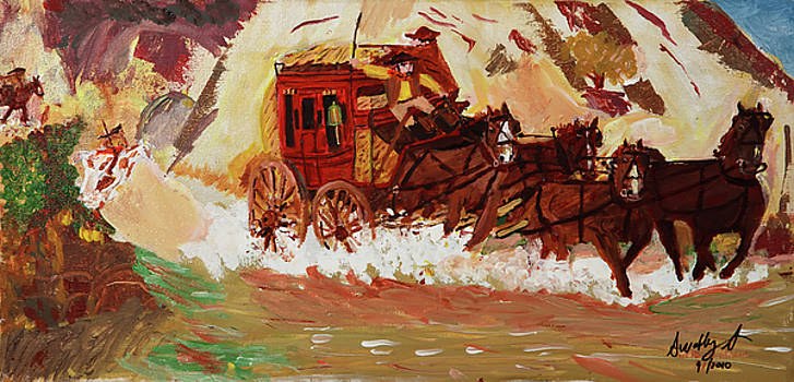 The Stagecoach by Swabby Soileau