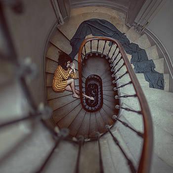 The Stair Romance by Anka Zhuravleva