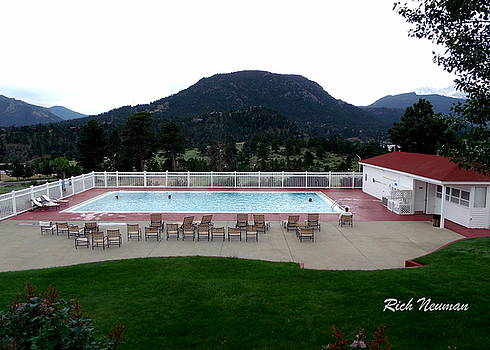 The Stanley Hotel Pool by Rich Neuman