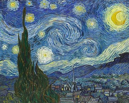 The Starry Night by Artistic Panda