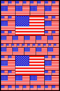 The Stars and Stripes 4 by Mike McGlothlen