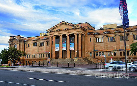 The State Library of New South Wales by Kaye Menner by Kaye Menner