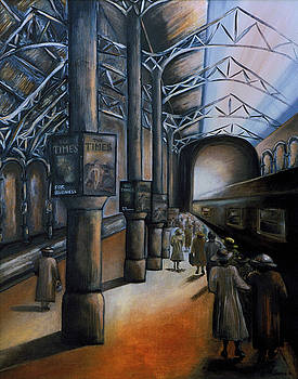 The Station by Ingrid Dance