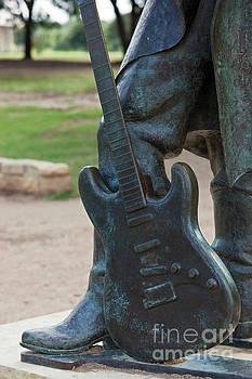 Herronstock Prints - The Stevie Ray Vaughan famous guitar Statue in Austin, Texas