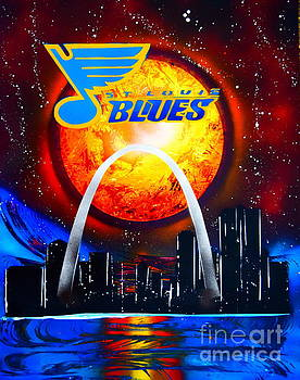 The STL Blues by Justin Moore