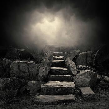 The Stone Steps I Toned by David Gordon