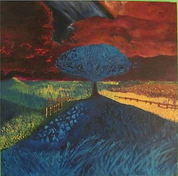 The storm by David Kristjanson