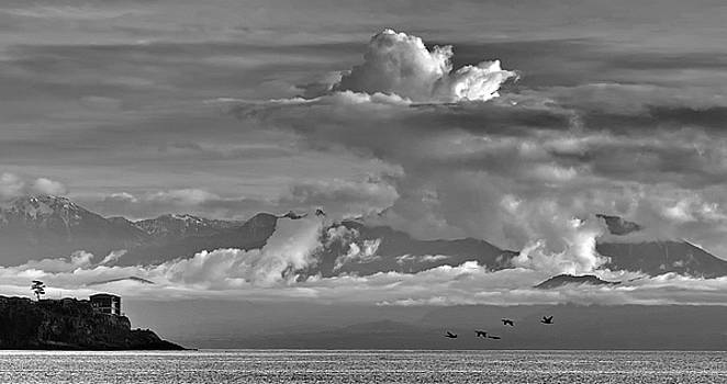 The Storm Sooke British Columbia  by Gregory Varano