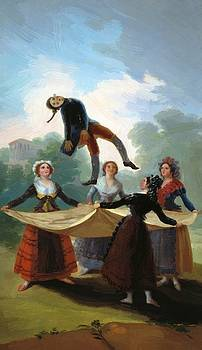 The Straw Manikin 1792 by Goya Francisco