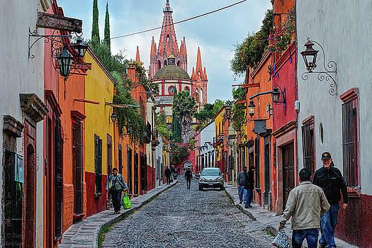 The Streets of San Miguel de Allende by Jason Humbracht