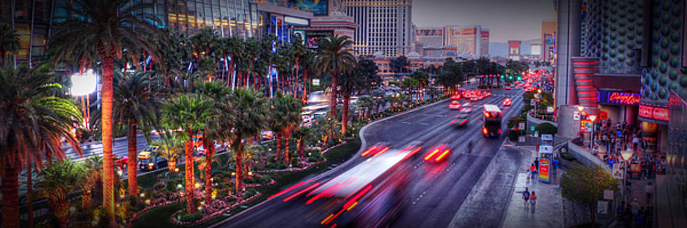 The Strip 001 by Robert Melvin