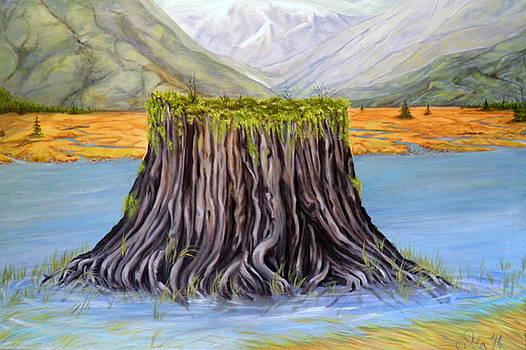 The Stump by Ida Eriksen