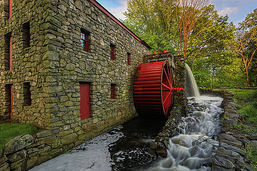 The Sudbury Grist Mill  by Juergen Roth