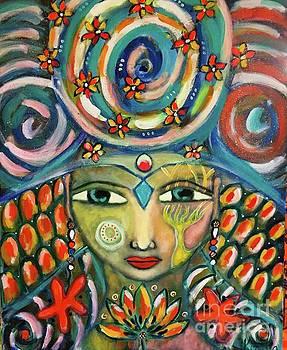 The Sun Goddess  by Corina Stupu Thomas
