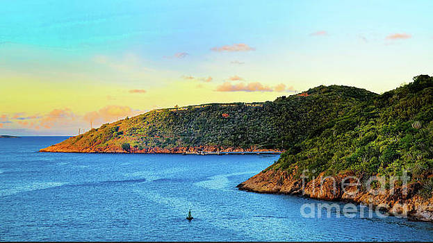 The Sun Sets on St. Thomas by Maggie Magee Molino