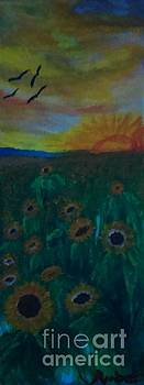 The Sunflower Patch by Amber Waltmann