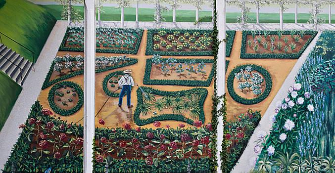 The Sunken Garden by Gloria Cigolini-DePietro