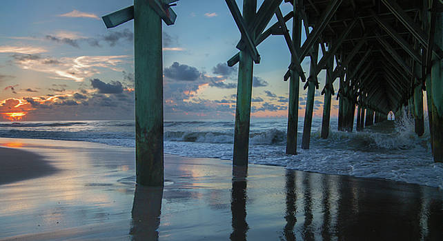 The Sunrise Topsail Island by Betsy Knapp
