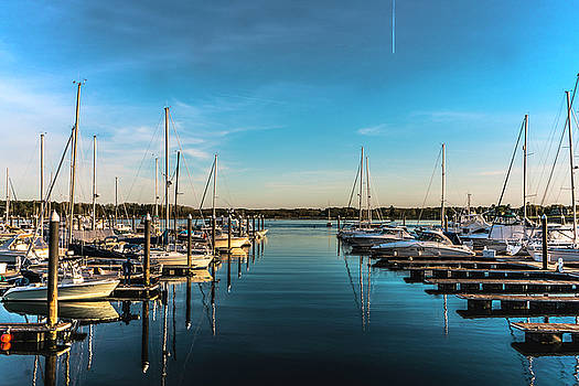 The Sunshine is out and the Wentworth By the Sea Marina is starting to fill up by Devin LaBrie