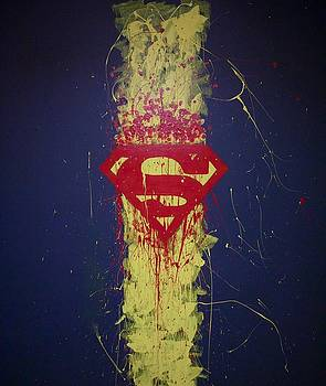 The Superman Wall by Corey Wright