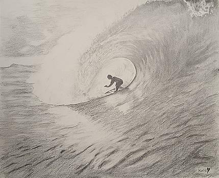 The Surfer by Adekunle Ogunade