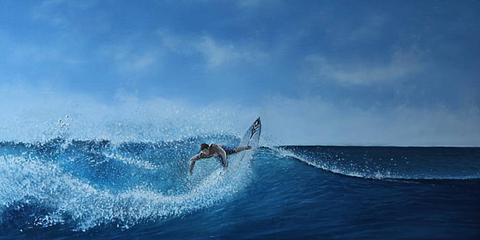 The Surfer by Paul Newcastle