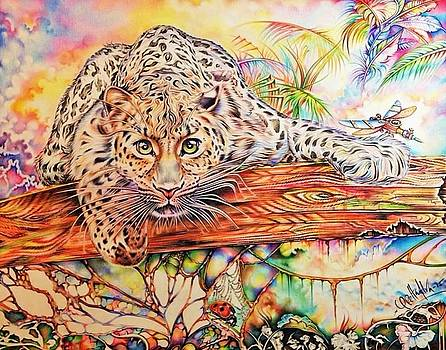 The Surreal leopard by Gretta Alva