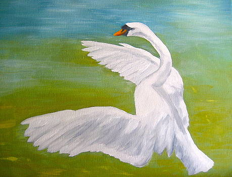 The Swan Dance by Julie Sauer