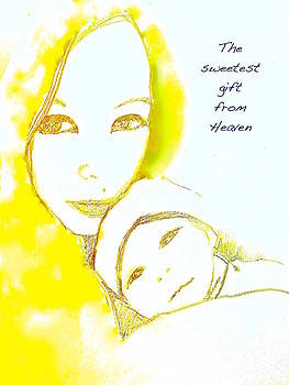 The sweetest gift from heaven by Wonju Hulse