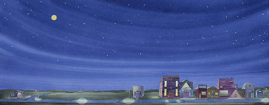 The Sweetest Little Town In the Prairie II by Scott Kirby