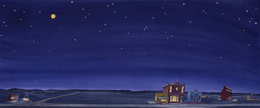 The Sweetest Little Town on the Prairie V by Scott Kirby