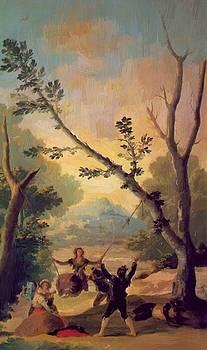 The Swing 1787 by Goya Francisco