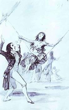 The Swing by Goya Francisco