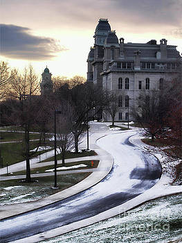 The Syracuse University Hall of Languages by Debra Millet