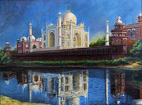 The Taj Mahal Shrine of Beauty by Regina Femrite
