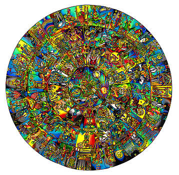 the TAROT mandala by Jonathan 'DiNo' DiNapoli