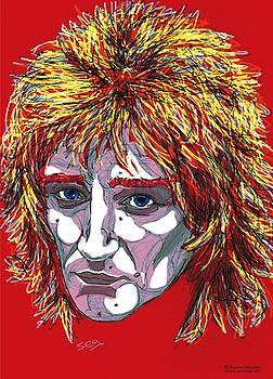 The Tartan of Rod Stewart by Suzanne Gee