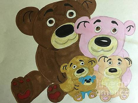 The Teddy Family  by Charita Padilla