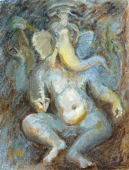 The Temple of Love Ganesh by Ann Radley