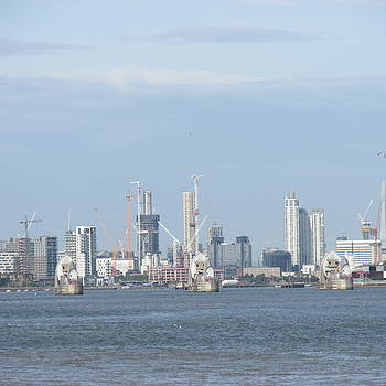 The Thames Flood Barriers - East London by Mudiama Kammoh
