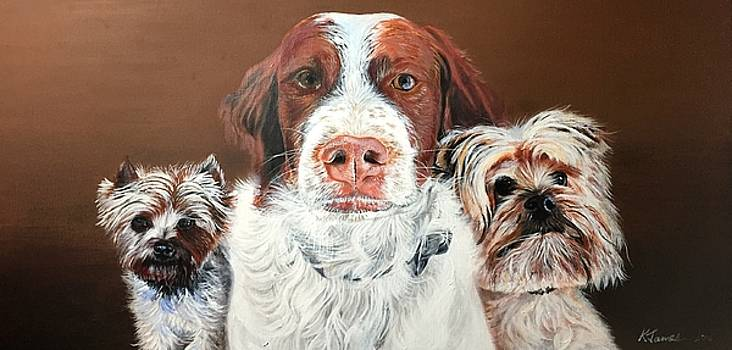The three best freinds by Kelvin James
