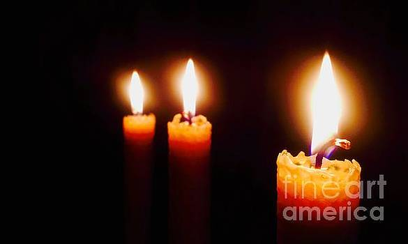 The Three Candles by C Lythgo