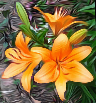 The Three Lilies by Sheila Renee Parker