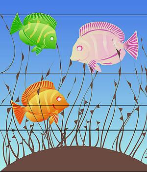 The Three Little...Fish by Kori Jones