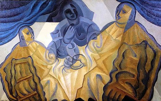 The Three Masks 1923 by Gris Juan