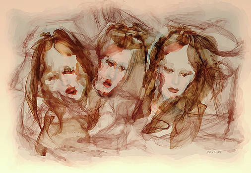 The Three Muses by Valerie Anne Kelly