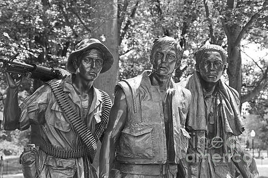 The Three Servicemen by Marcel  J Goetz  Sr