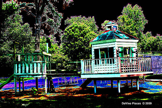 The Tides Inn Playground by Trish Jenkins