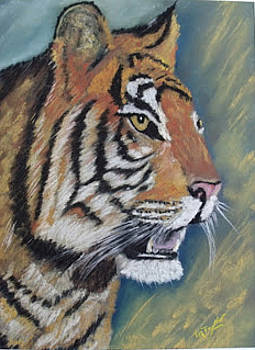 The Tiger  by Ralph Taylor