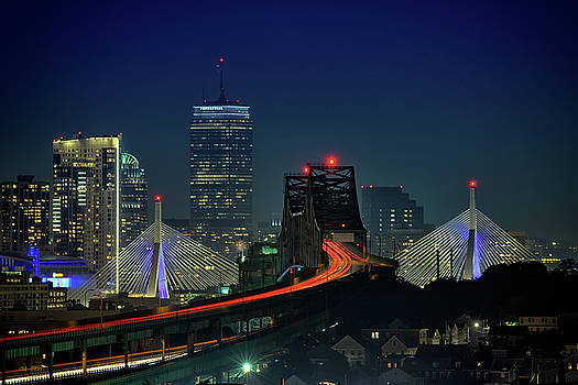 The Tobin and Zakim Bridges by Rick Berk